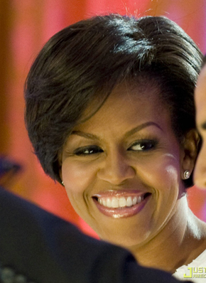 cheveux michelle obama